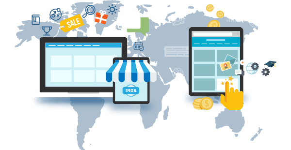web design e-commerce online