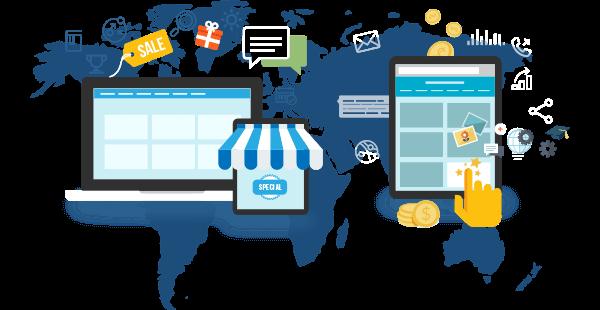 web design e-commerce online