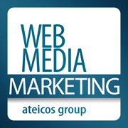web media marketing logo